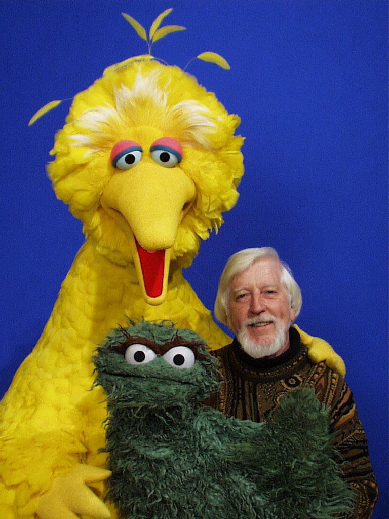 Caroll Spinney, Big Bird and Oscar the Grouch