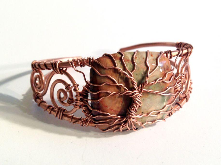 Kathryn's tree bracelet